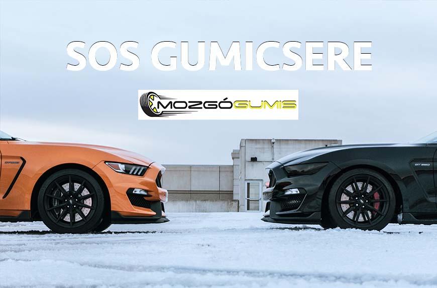SOS gumicsere segíti az autósokat Budapesten